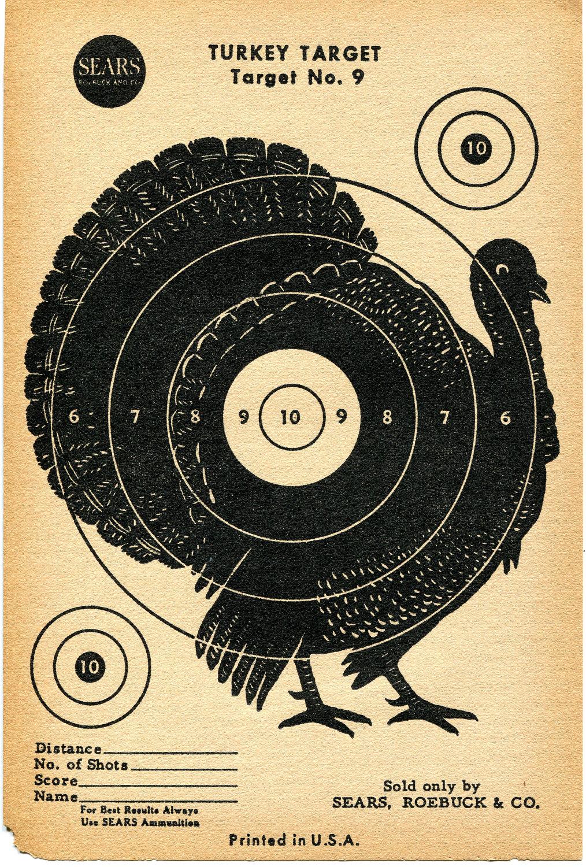 Vintage Targets | FreeTarget.org - Free Printable Targets