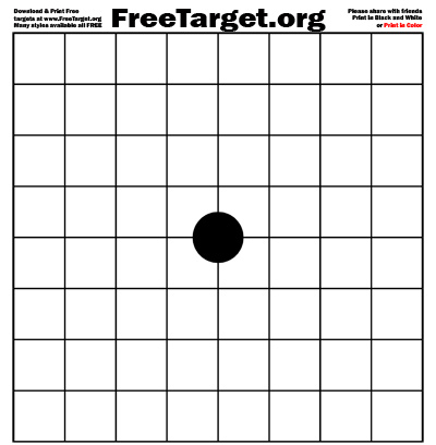 picture regarding 1 Inch Grid Printable identify Black 1 Dot 1 inch Grid Focus  - Free of charge