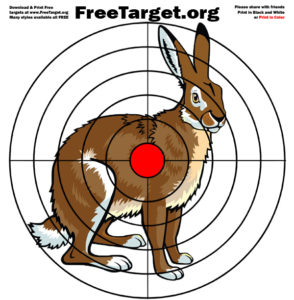 Jack Rabbit Red Dot Bulls eye